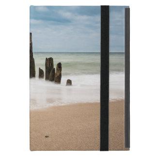 Capa iPad Mini Groynes na costa do mar Báltico