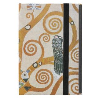Capa iPad Mini Gustavo Klimt a árvore da arte Nouveau da vida