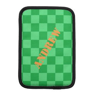 Capa iPad Mini HAMbWG - caixa do computador - verificador verde