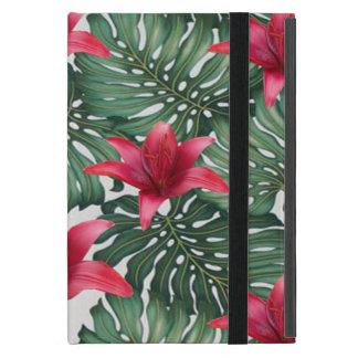 Capa iPad Mini Hawaiian tropical adorável Hibiskus da palma
