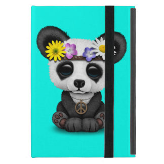 Capa iPad Mini Hippie bonito da panda do bebê