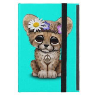 Capa iPad Mini Hippie bonito de Cub da chita