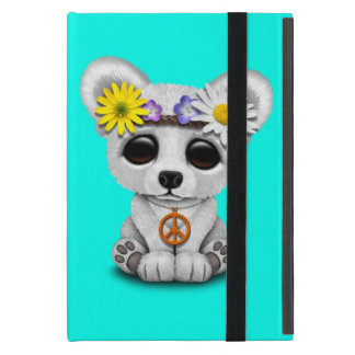 Capa iPad Mini Hippie bonito de Cub de urso polar do bebê