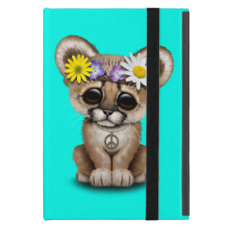 Capa iPad Mini Hippie bonito de Cub do puma