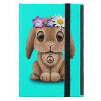Capa iPad Mini Hippie bonito do coelho do bebê