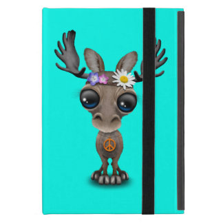 Capa iPad Mini Hippie bonito dos alces do bebê