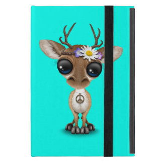 Capa iPad Mini Hippie bonito dos cervos do bebê