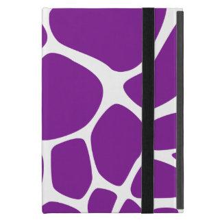 Capa iPad Mini Impressão animal (teste padrão) do girafa - branco