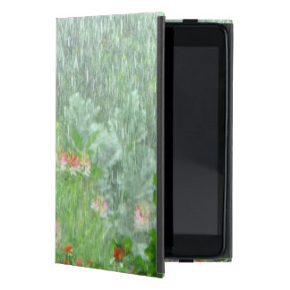 Capa iPad Mini Jardim caso do iPad do verde da chuva no mini