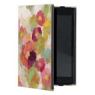 Capa iPad Mini Jardim coral e esmeralda