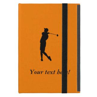 Capa iPad Mini Jogador de golfe