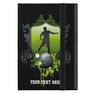 Capa iPad Mini Jogador ou fã de futebol