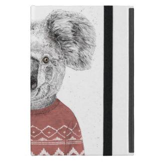 Capa iPad Mini Koala do inverno (vermelho)