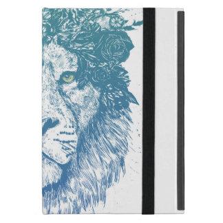 Capa iPad Mini Leão floral
