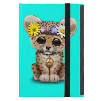 Capa iPad Mini Leopardo bonito Cub do Hippie