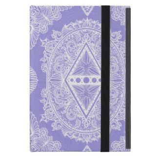 Capa iPad Mini Lilac, idade do despertar, bohemian, newage