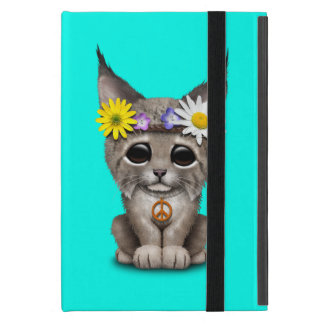 Capa iPad Mini Lince bonito Cub do Hippie