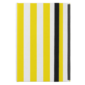 Capa iPad Mini Listras amarelas verticais