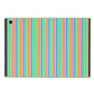 Capa iPad Mini Listras coloridas bonitos do verão