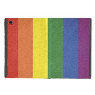 Capa iPad Mini Listras do arco-íris