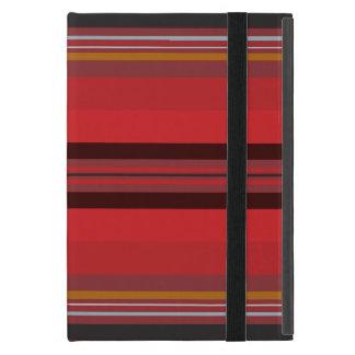 Capa iPad Mini Listras - horizonte vermelho
