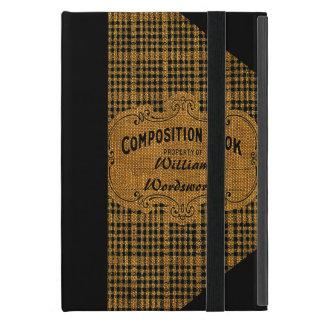 Capa iPad Mini Livro rústico da composição do vintage