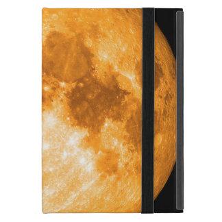 Capa iPad Mini Lua cheia alaranjada