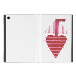 Capa iPad Mini Luva da Eu-Almofada do barco de Loveheart mini