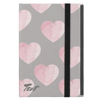 Capa iPad Mini luz clara elegante - teste padrão cor-de-rosa do