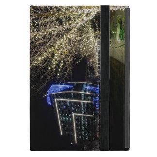 Capa iPad Mini Luzes da árvore no parque de Klyde Warren