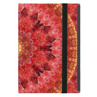 Capa iPad Mini Mandala de cristal do fogo