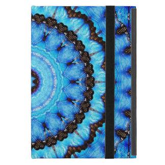Capa iPad Mini Mandala do azul da borboleta