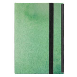 Capa iPad Mini Mármore verde do Watercolour