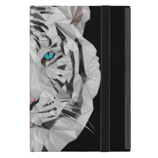 Capa iPad Mini Mini caso do baixo iPad poli do tigre Siberian sem