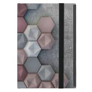 Capa iPad Mini Mini caso do iPad arquitectónico dos hexágonos