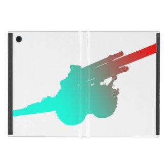 Capa iPad Mini Mini caso do iPad azul da artilharia sem Kickstand