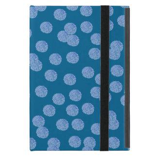 Capa iPad Mini Mini caso do iPad azul das bolinhas sem Kickstand