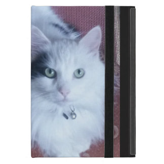 Capa iPad Mini Mini caso do iPad bonito macio branco do gato