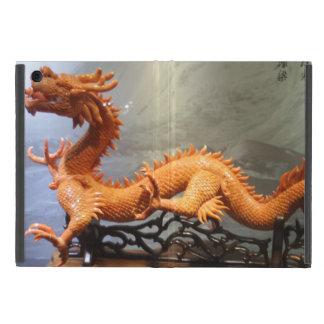Capa iPad Mini Mini caso do iPad chinês do dragão sem Kickstand