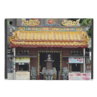 Capa iPad Mini Mini caso do iPad chinês do templo sem Kickstand