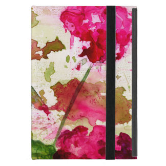 Capa iPad Mini mini caso do ipad floral abstrato