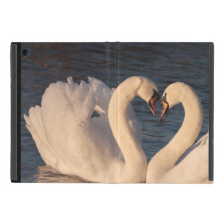 Capa iPad Mini Mini caso do iPad Loving das cisnes sem Kickstand