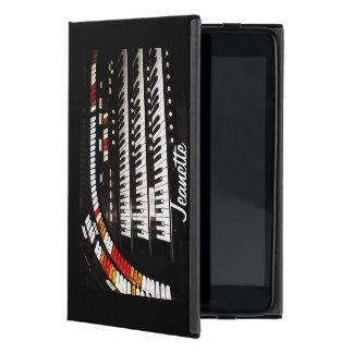 Capa iPad Mini mini caso in-folio do iPad, órgão antigo, parte