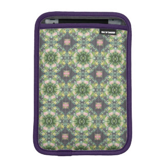 Capa iPad Mini Mini luva ida floral do iPad selvagem do rickshaw