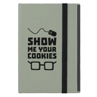Capa iPad Mini Mostre-me seu geek Zb975 dos biscoitos