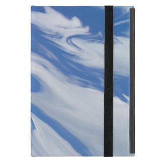 Capa iPad Mini Na borda de um sonho. Nuvens do céu azul
