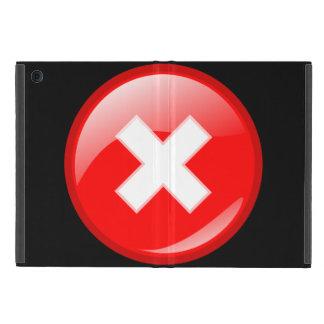 Capa iPad Mini Não toque no mini caso do iPad sem Kickstand