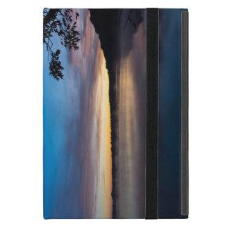 Capa iPad Mini Nascer do sol do outono de Springfield do lago