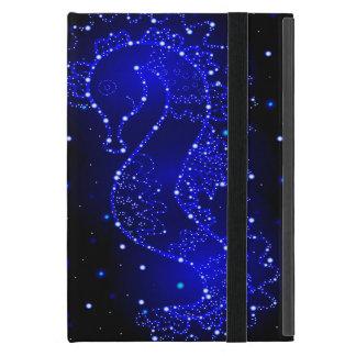 Capa iPad Mini natações do cavalo de mar nas luzes