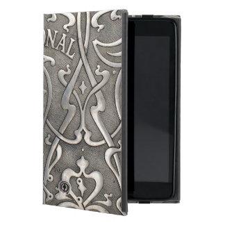 Capa iPad Mini Nouveau da arte, estilo do jugen, Noruega,